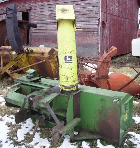 John Deere 7 foot model 270 double auger snowblower